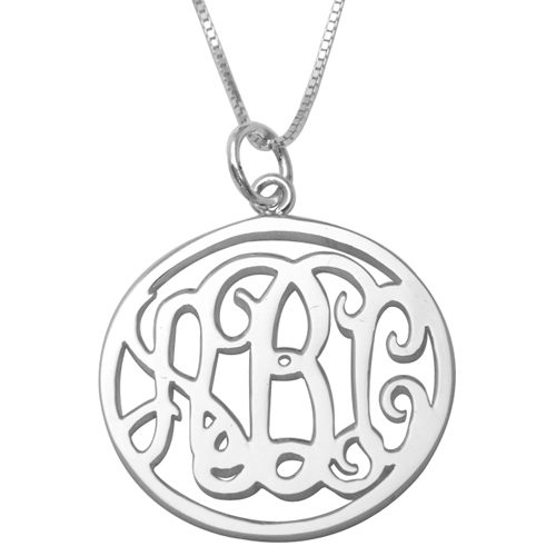 | Naamketting monogram rond 278