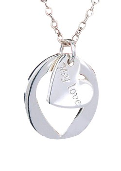 | Ketting stamped 035 Heart