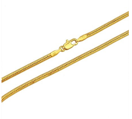 Ketting 18k gold plated