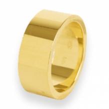 Wonderbaarlijk Brede gouden dames ring graveren SE-61
