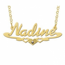 Gouden naamketting Names4ever