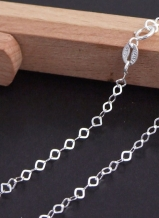 Ketting 096 sterling zilver 18''