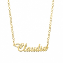 Gouden naamketting elegant  Names4ever